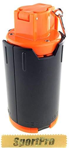 SP製 GR02 210発 6mm BB弾専用 インパクト グレネード スプリング式 プラスチック製 - ブラック