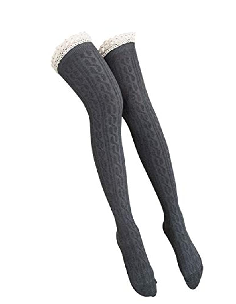サーマル前提疫病オーバーニーソックス 美脚 着圧 スッキリ サイハイソックス ニーハイ ストッキング ロングソックス レディース 靴下 かわいい