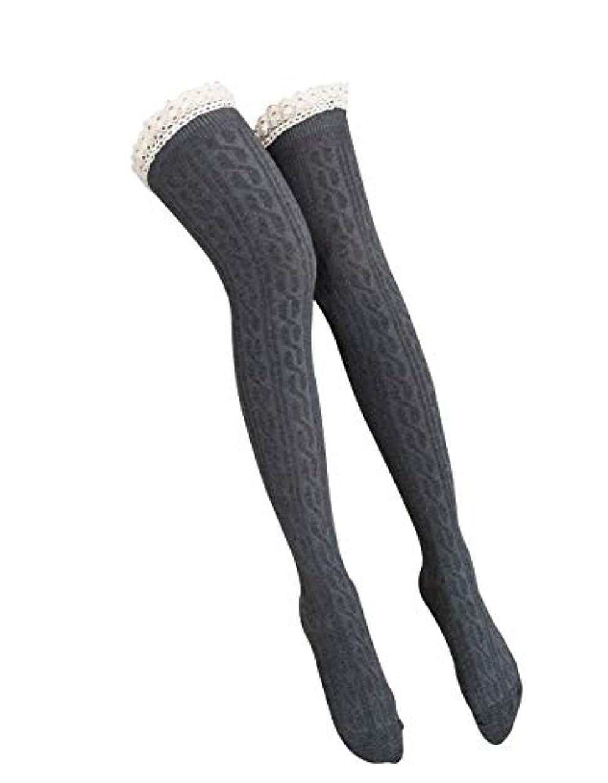 違反する検出平和的オーバーニーソックス 美脚 着圧 スッキリ サイハイソックス ニーハイ ストッキング ロングソックス レディース 靴下 かわいい