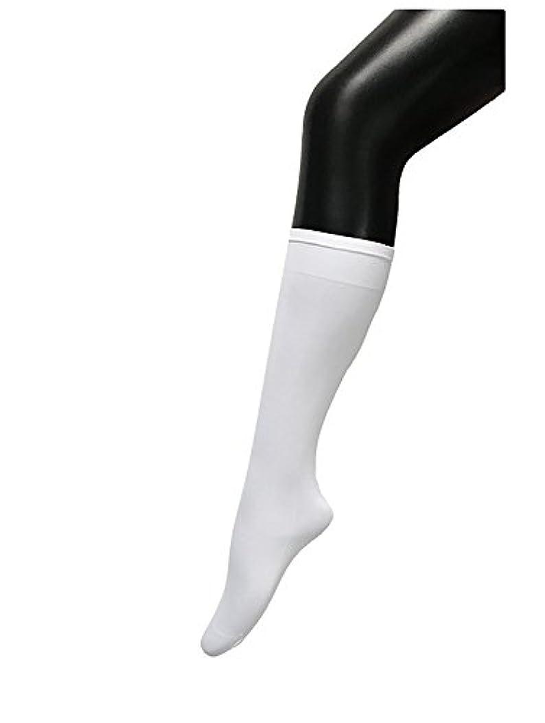 真珠のような処理するタバコCOSCO ストッキング ソックス ニーソックス 膝下タイプ 着圧 美脚 40CM
