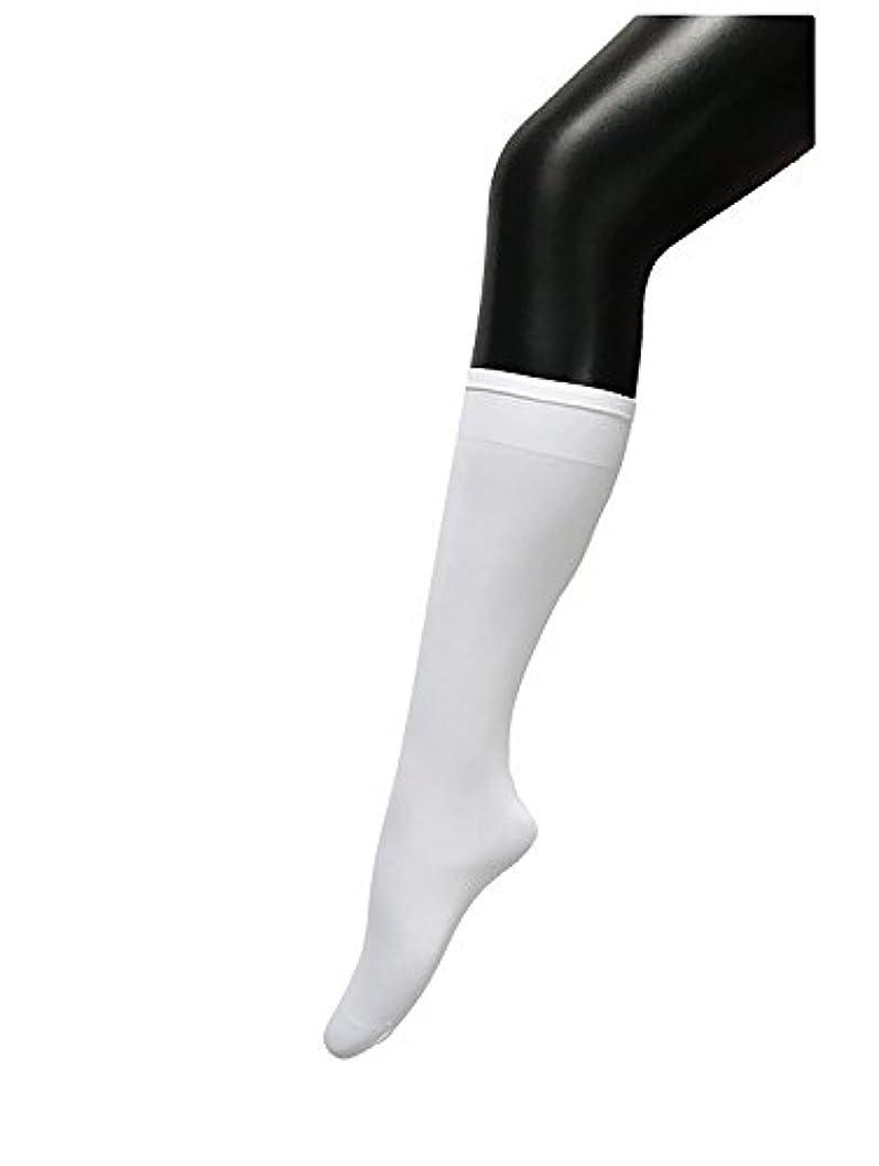 スロー配管工仲介者COSCO ストッキング ソックス ニーソックス 膝下タイプ 着圧 美脚 40CM