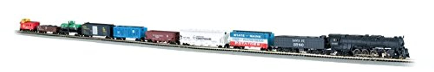 Bachmann Trains Empire Builder Ready - To - Run N Scale Train Set [並行輸入品]