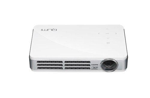 VIVITEK QUMI Q5-WT ホワイト 490g 高輝度500ルーメン LEDモバイルプロジェクター WXGA(1280x800) HD720P DLP Wi-Fiワイヤレス接続対応 Q5-WT