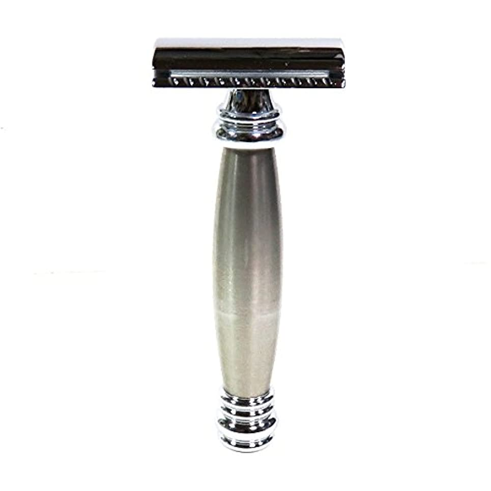 原告情熱チーフメルクールMERKUR(独)髭剃り(ひげそり)両刃ホルダー43002 流線型重厚グリップ