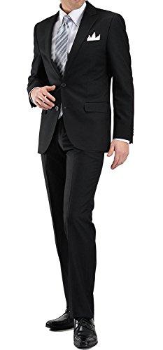 BLACK FORMALブラックフォーマルスーツT/R2ツボタンメンズ冠婚葬祭 礼服 喪服YA-5号L-AZLFM-04-990-YA5