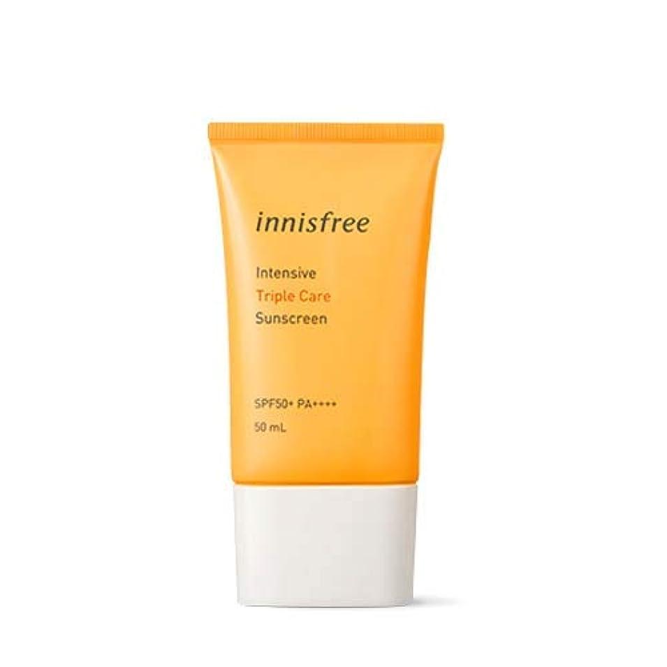 フィクション崩壊技術[イニスフリー] innisfree [インテンシブ トリプル ケア サンスクリーン 50ml ] Intensive Triple Care Sunscreen SPF50+ PA++++ 50ml [海外直送品]