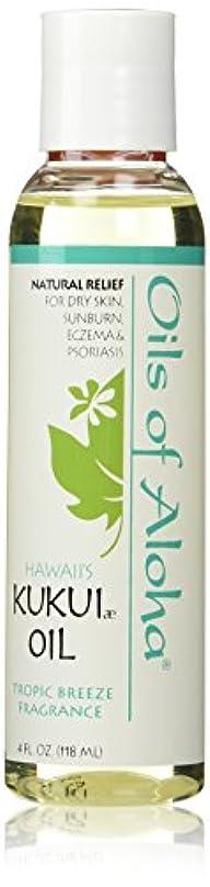 鉄道フレームワークスタックKukui Skin Oil /Tropic Breeze Fragranc/118ml4oz