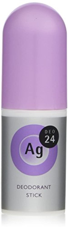 タイピスト想定する寛容なエージーデオ24 デオドラントスティックEX フレッシュサボンの香り 20g (医薬部外品)
