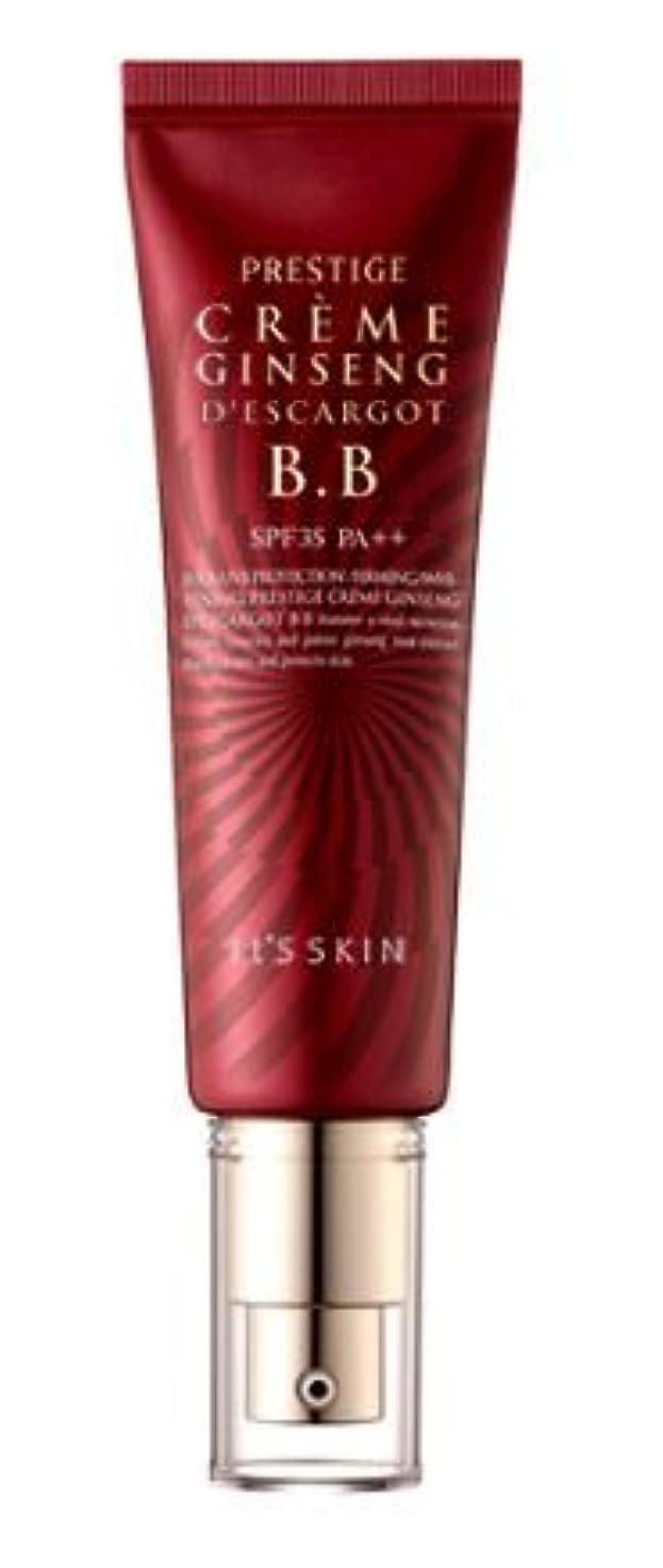 サロン用心深い恒久的[It's skin] Prestige Ginseng D'escargot B.B 50ml/ジンセン エスカルゴ B.B 50ml [並行輸入品]