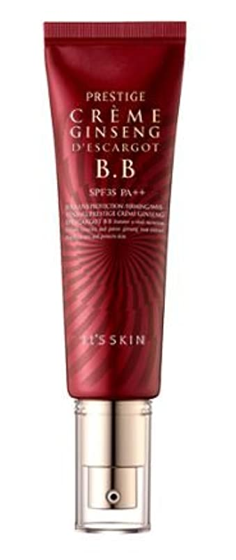 うぬぼれた側盲目[It's skin] Prestige Ginseng D'escargot B.B 50ml/ジンセン エスカルゴ B.B 50ml [並行輸入品]