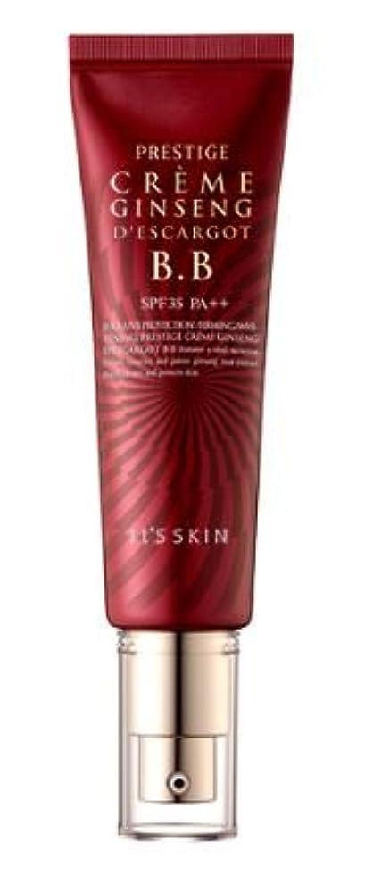 くすぐったいオプショナル放射性[It's skin] Prestige Ginseng D'escargot B.B 50ml/ジンセン エスカルゴ B.B 50ml [並行輸入品]