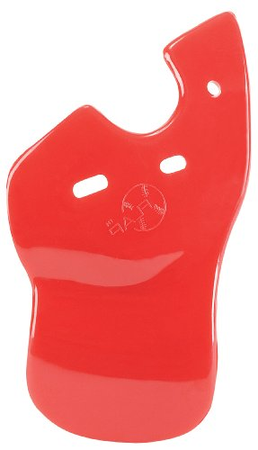 (Right Handed Batters, Scarlet Red) - C-Flap Face Guard - Left Handed Batters