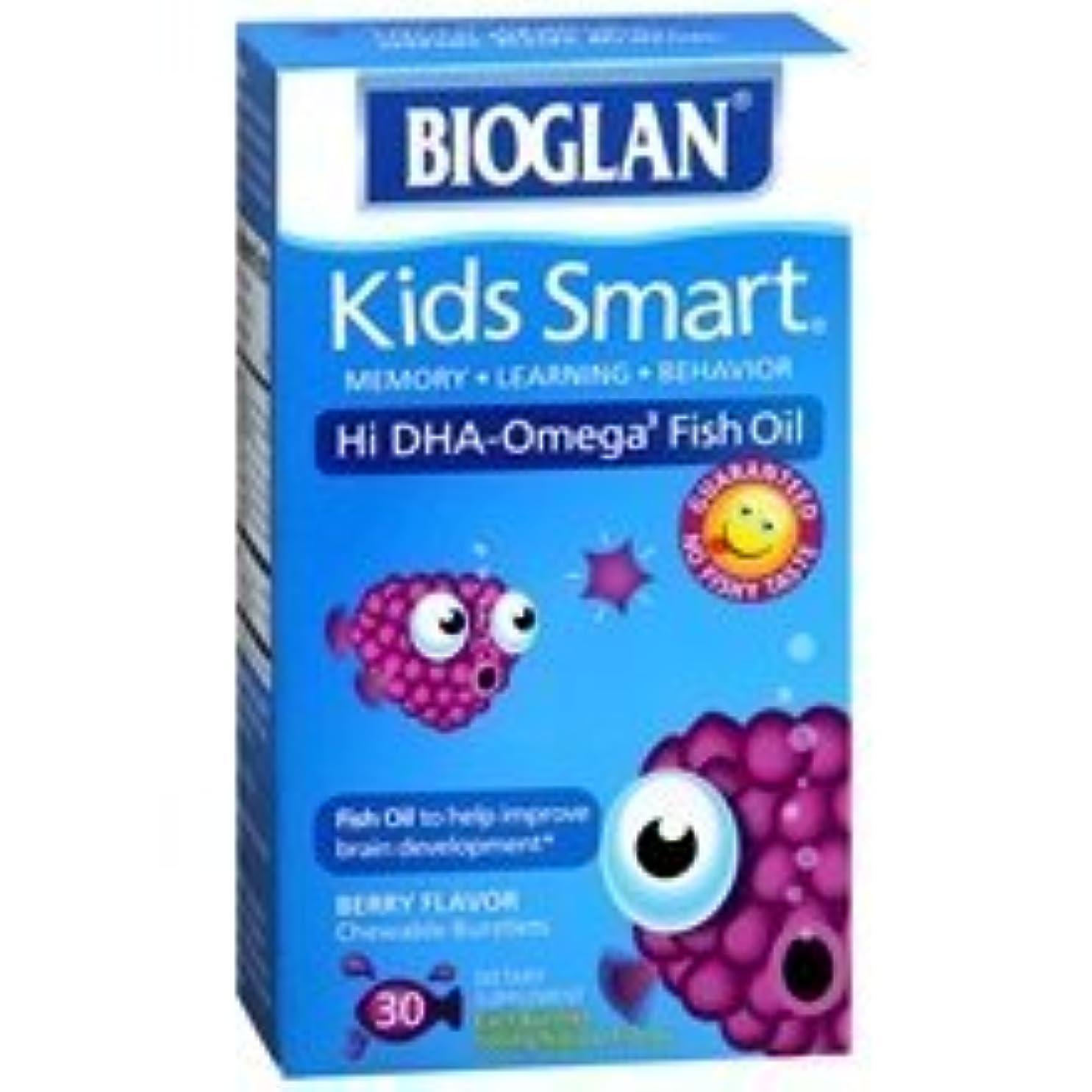 ブローリハーサルホームBioglan Kids Smart Hi DHA-Omega3 Fish Oil 500 mg Dietary Supplement Burstlets Berry Flavor 30.0 ea. (Quantity...