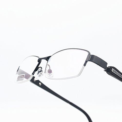 アルミニウムフレーム非球面老眼鏡 おしゃれリーディンググラス 度数「+1.0~+4.0」yr2020 (+1.0)