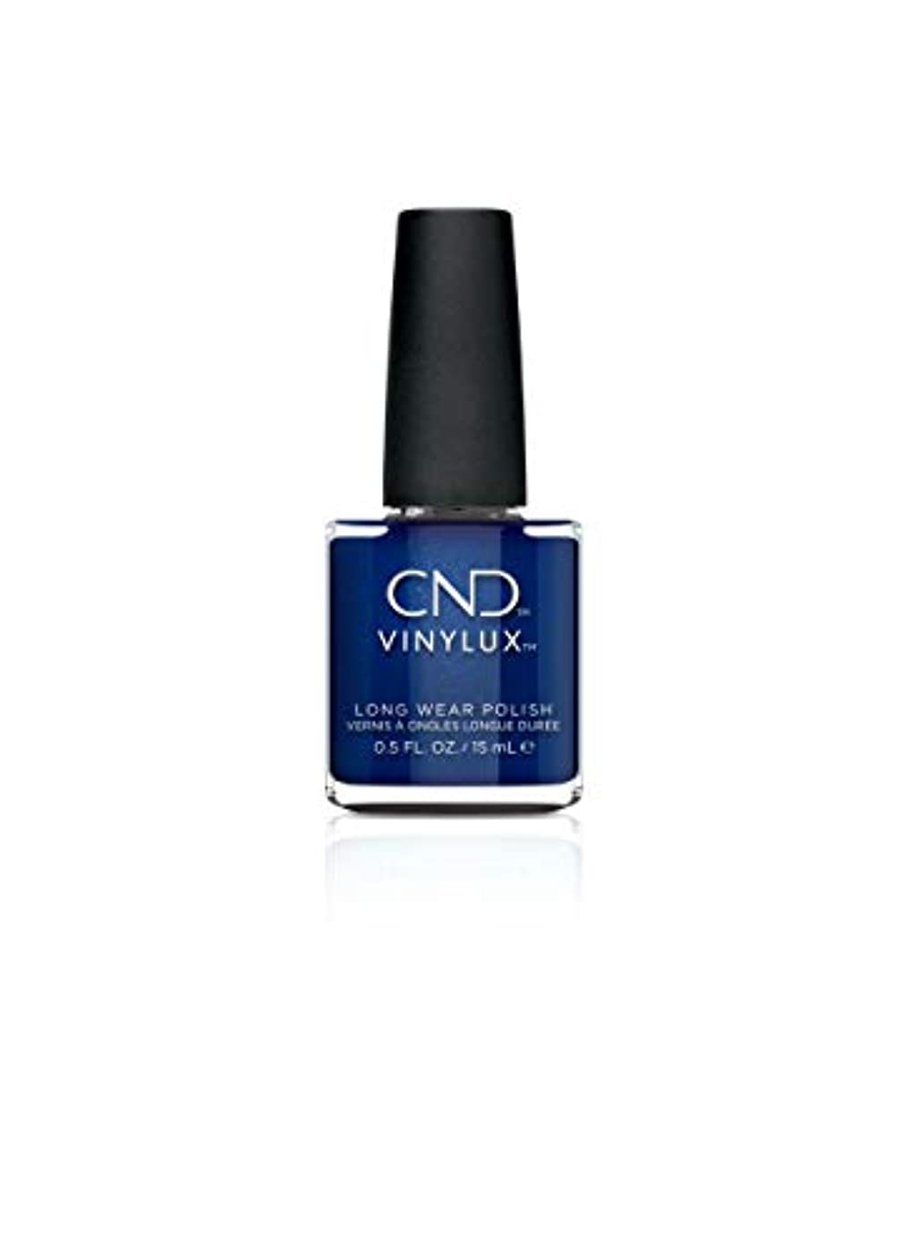 設置観察それCND Vinylux - Crystal Alchemy Winter 2019 Collection - Sassy Sapphire - 0.5oz / 15ml