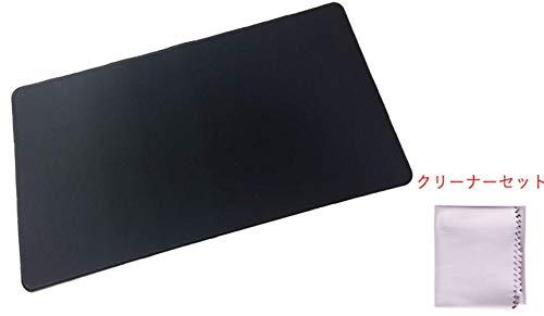 D-drempating トレーディングカードゲーム プレイマット カード クリーナー セット 対戦型 BIG サイズ トレーディングカード ラバーマット 高性能 カード マジック プレイ マット (ブラック)pa156