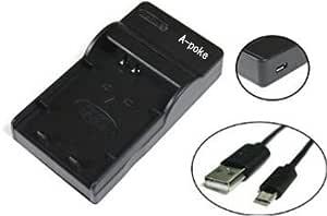 エーポケ LP-E17 対応USB充電器Canon キャノン対応バッテリーチャージャー