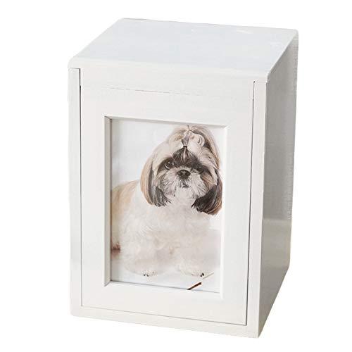 ペット仏壇 ペットの骨壷を納める メモリアルBOX ホワイト
