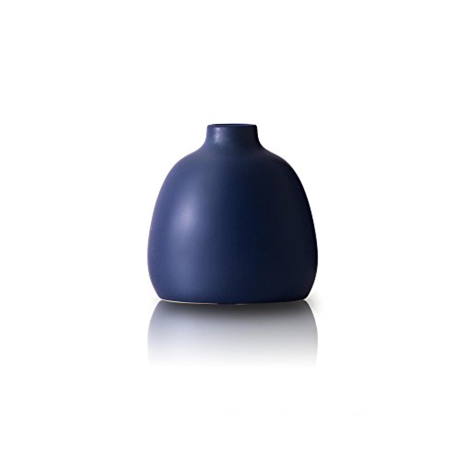 借りる不信絶滅したOnlili 陶器 アロマディフューザー ブルー