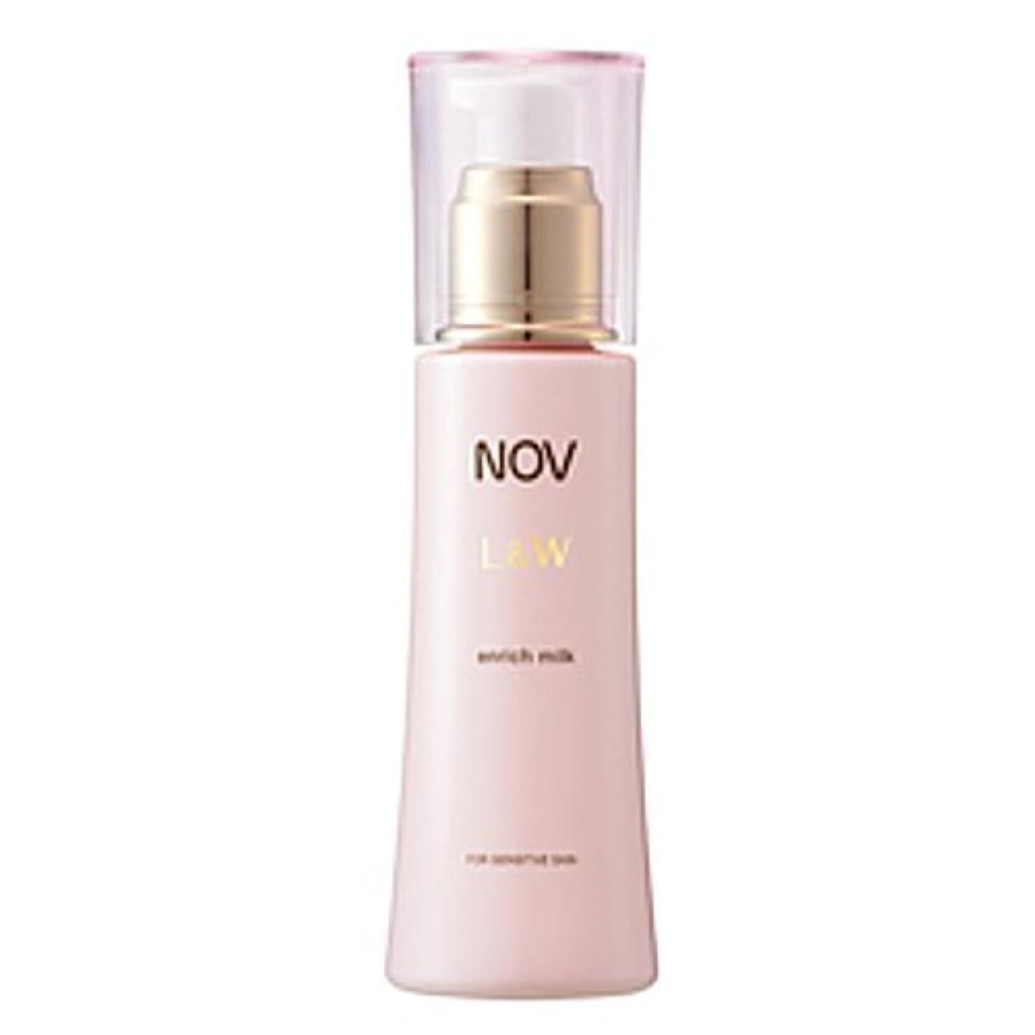 噴出する第三項目NOV(ノブ) L&W  エンリッチミルク(医薬部外品)<80ml>