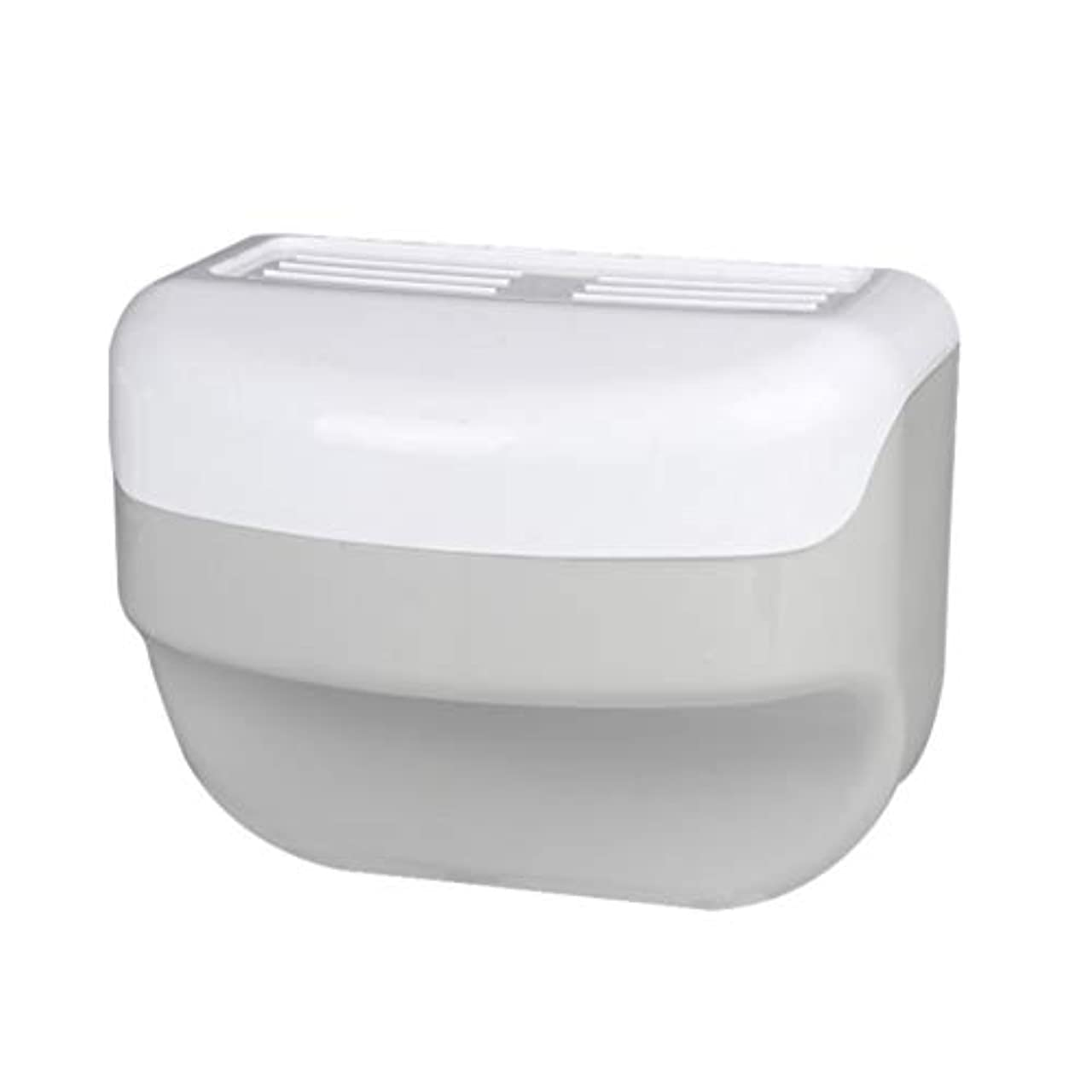 避難提供するページェントTOPBATHY 浴室トイレティッシュボックスラック壁吸盤ロールホルダーフリー掘削ネイルフリーティッシュボックス