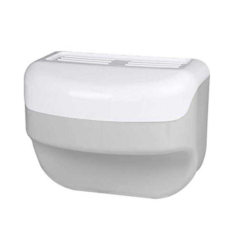 財政ジョセフバンクス思いやりTOPBATHY 浴室トイレティッシュボックスラック壁吸盤ロールホルダーフリー掘削ネイルフリーティッシュボックス