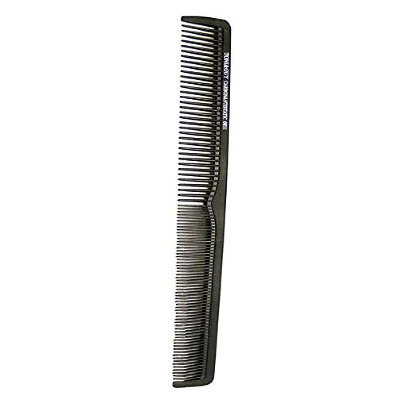 オゾン揃えるグラフSILUN 黒鋼針くし 耐熱 帯電防止 理髪コーム人気 スタイリングコーム 静電気防止 散髪店/美容院専用櫛