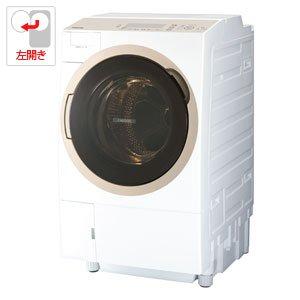 東芝 11.0kg ドラム式洗濯乾燥機【左開き】グランホワイト...