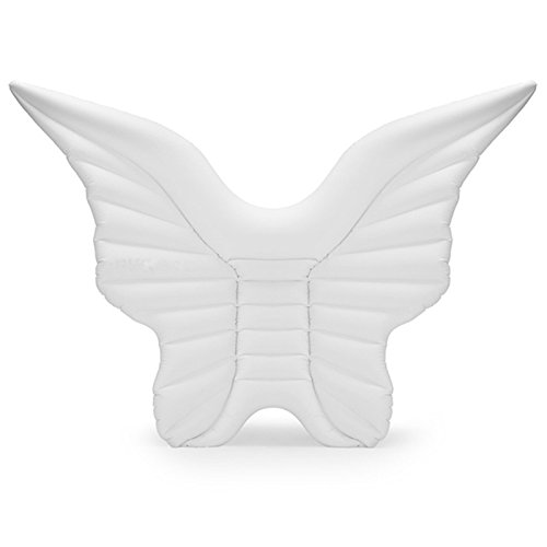 Elegant Crown Prince 浮き輪 天使の羽 アクア ビーチ ラウンジ レジャー 海水浴 ホワイト