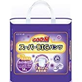 Elleair GOO.N Super Big Diapers (with tape straps) (x14) by DAIO PAPER