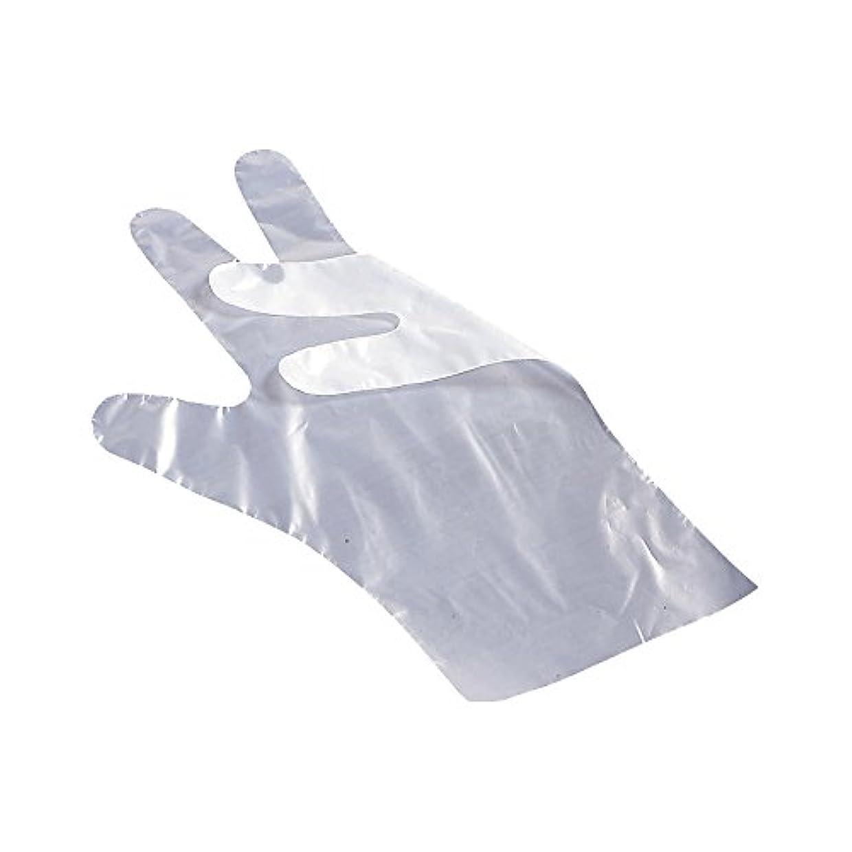 アカデミックぼかし同化するサクラメンポリエチレン手袋 エコノミー強力 A 200枚入 S