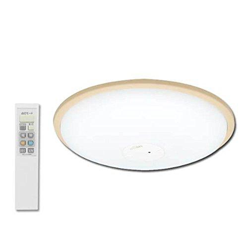アイリスオーヤマ LEDシーリングライト ~12畳 調光・調色タイプ ブラウン CL12DL-W1-T