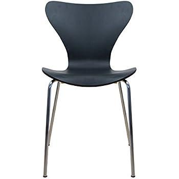 北欧家具の代名詞!『セブンチェア』 セブンチェア デザイナーズ アルネ・ヤコブセンデザイン (ブラック)