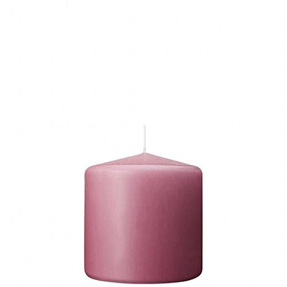腐食するソフィー立方体カメヤマキャンドル(kameyama candle) 3×3ベルトップピラーキャンドル 「 ラベンダークリーム 」