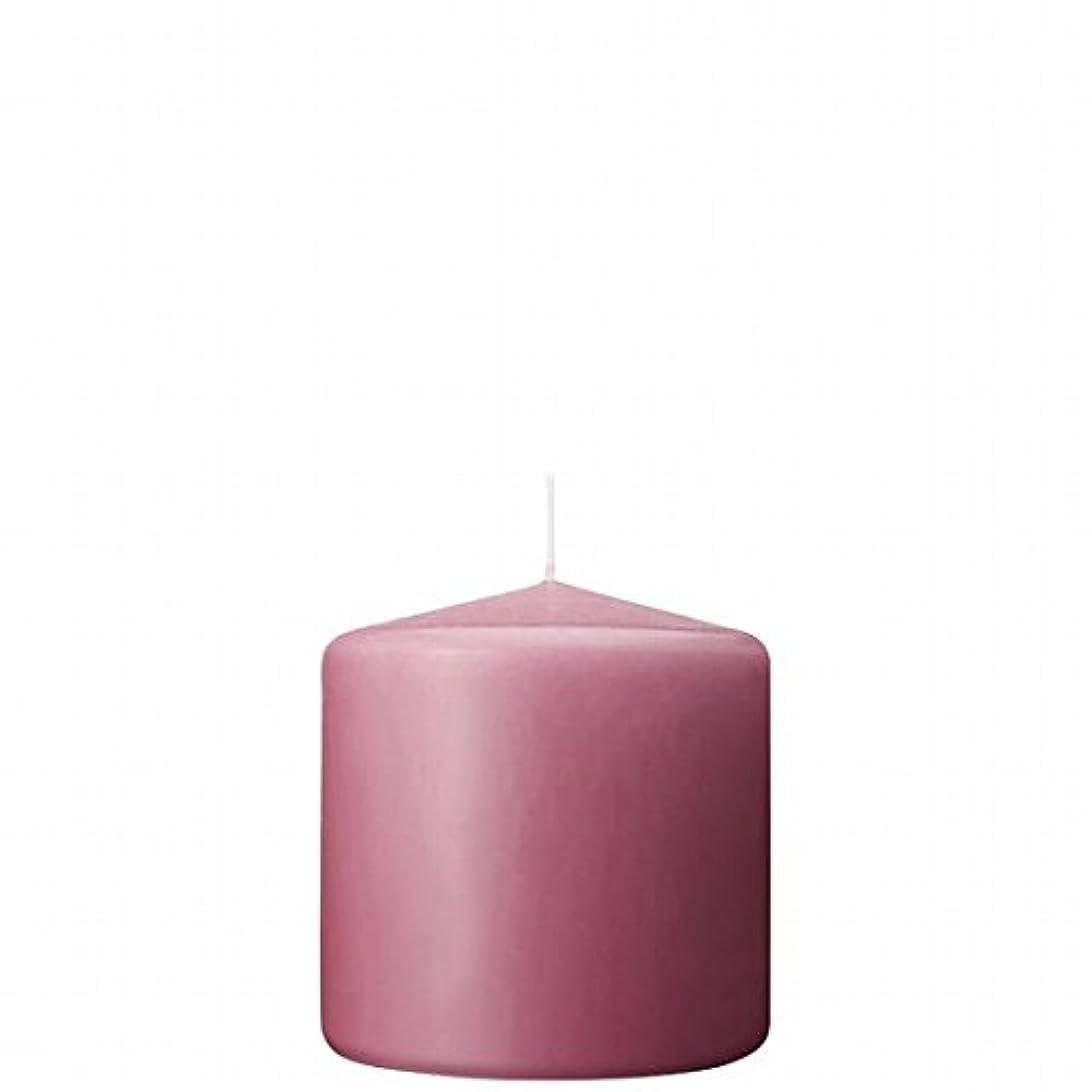 隣接不誠実全能カメヤマキャンドル(kameyama candle) 3×3ベルトップピラーキャンドル 「 ラベンダークリーム 」