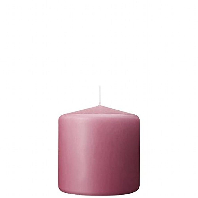 カメヤマキャンドル(kameyama candle) 3×3ベルトップピラーキャンドル 「 ラベンダークリーム 」