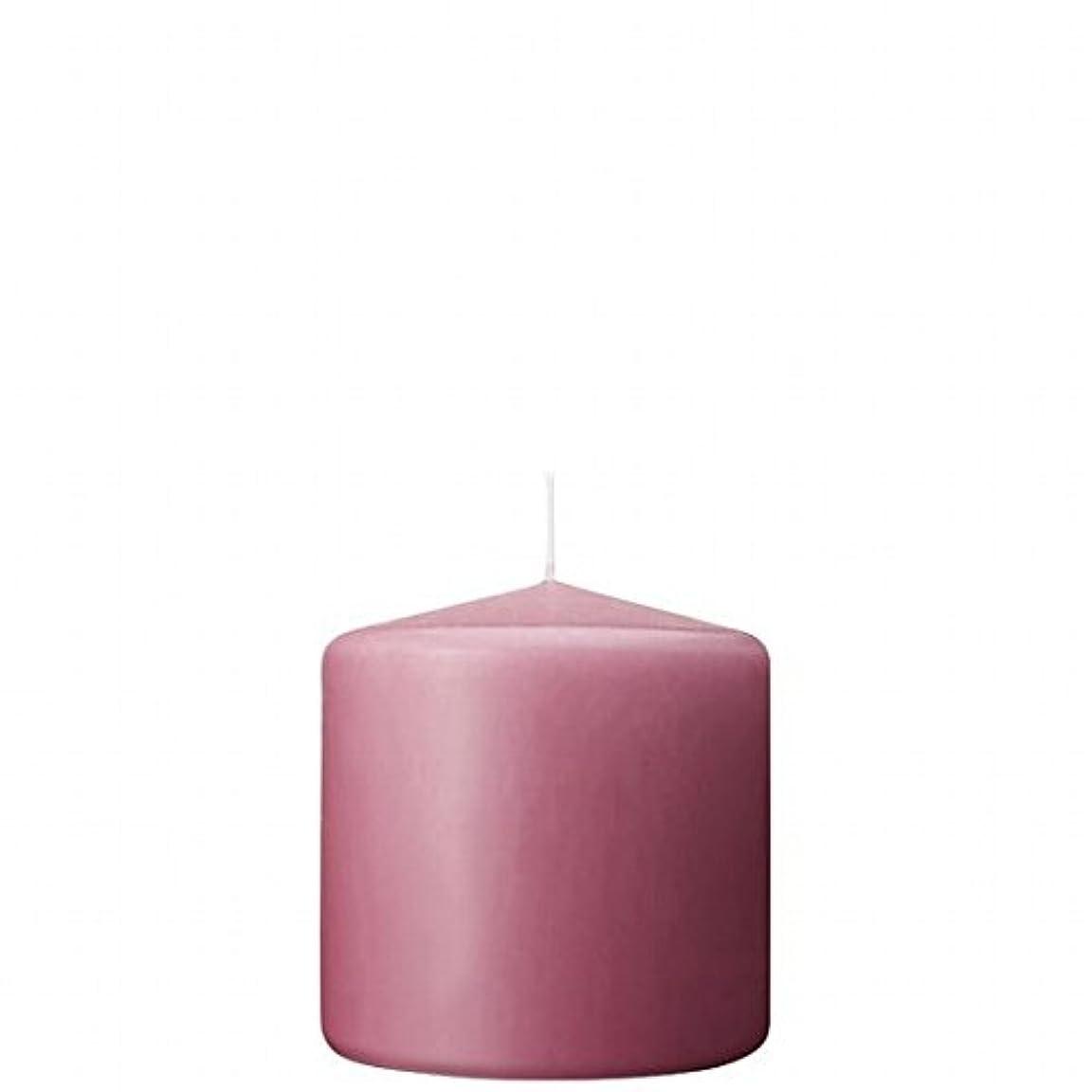 同意費用民主主義カメヤマキャンドル(kameyama candle) 3×3ベルトップピラーキャンドル 「 ラベンダークリーム 」