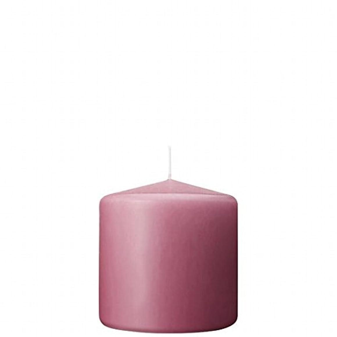 防止叫ぶ詐欺カメヤマキャンドル(kameyama candle) 3×3ベルトップピラーキャンドル 「 ラベンダークリーム 」