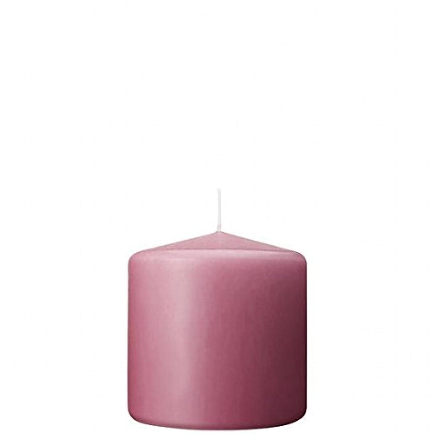 新聞クリケット珍味カメヤマキャンドル(kameyama candle) 3×3ベルトップピラーキャンドル 「 ラベンダークリーム 」