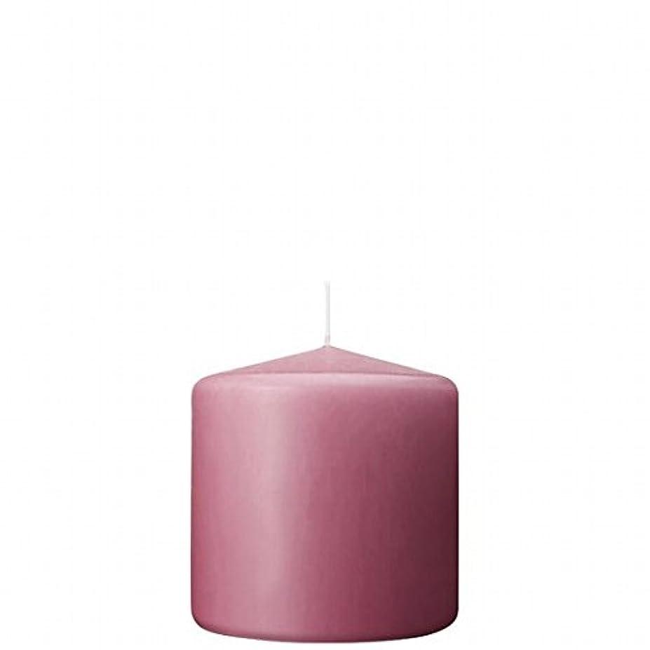 許さないランク本を読むカメヤマキャンドル(kameyama candle) 3×3ベルトップピラーキャンドル 「 ラベンダークリーム 」