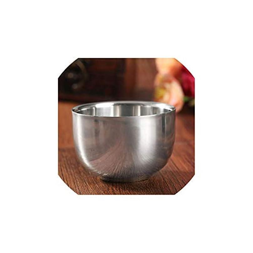 腸食品合唱団Dream-catching 7.2cm ステンレススチール メタル メンズ シェービングマグ ボウルカップ シェービングマグ シェービングマグ メンズマグ ボウルカップ シェーブブラシ用