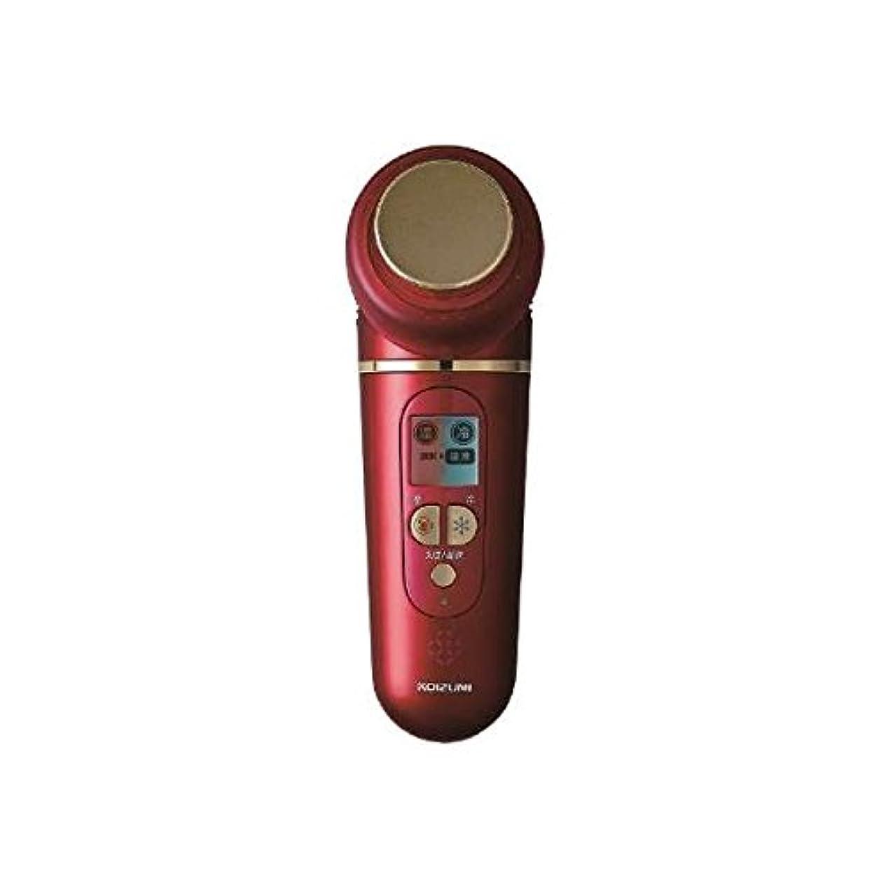 震える動く鈍いコイズミ KOIZUMI KWV-1600/R 温冷美顔器 [国内?海外対応]