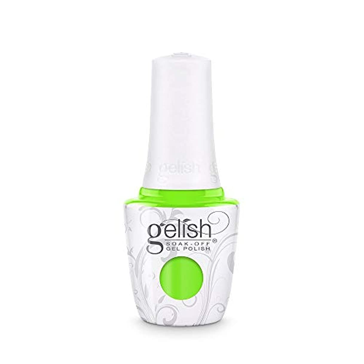 戸惑うアグネスグレイ指標Harmony Gelish - Make a Splash 2018 Collection - Limonade in the Shade - 15 mL / 0.5 Fl. Oz.