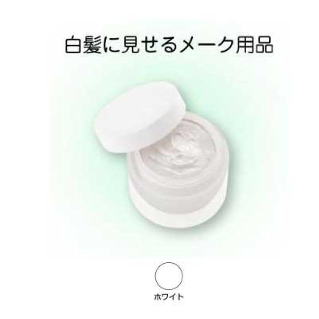 寝具通り薬局ヘアシルバー 33g ホワイト【三善】