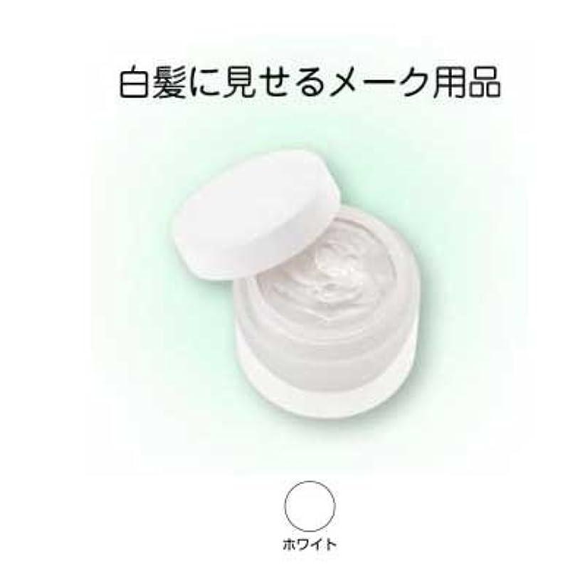 端亜熱帯有彩色のヘアシルバー 33g ホワイト【三善】