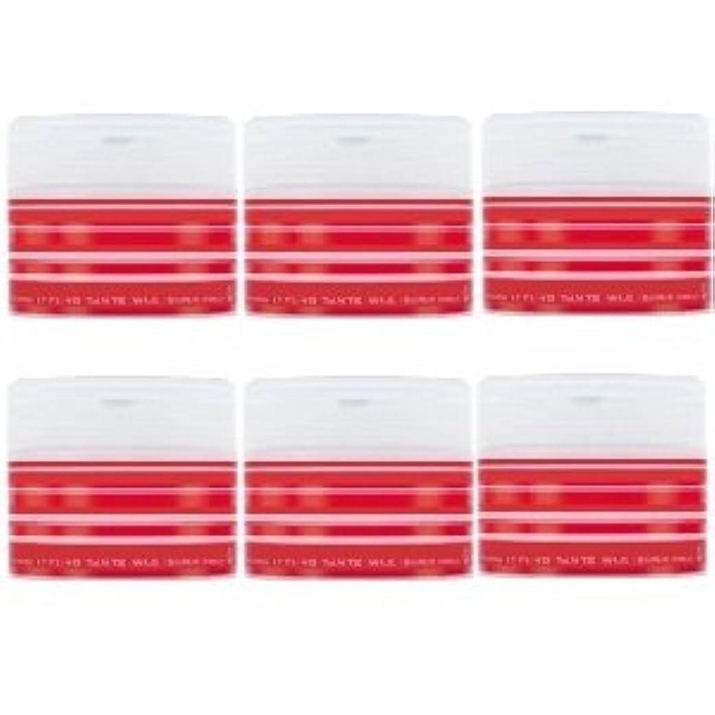 薄めるリマ文ナカノ スタイリング タントN ワックス 5 スーパーハード 90g × 6個セット