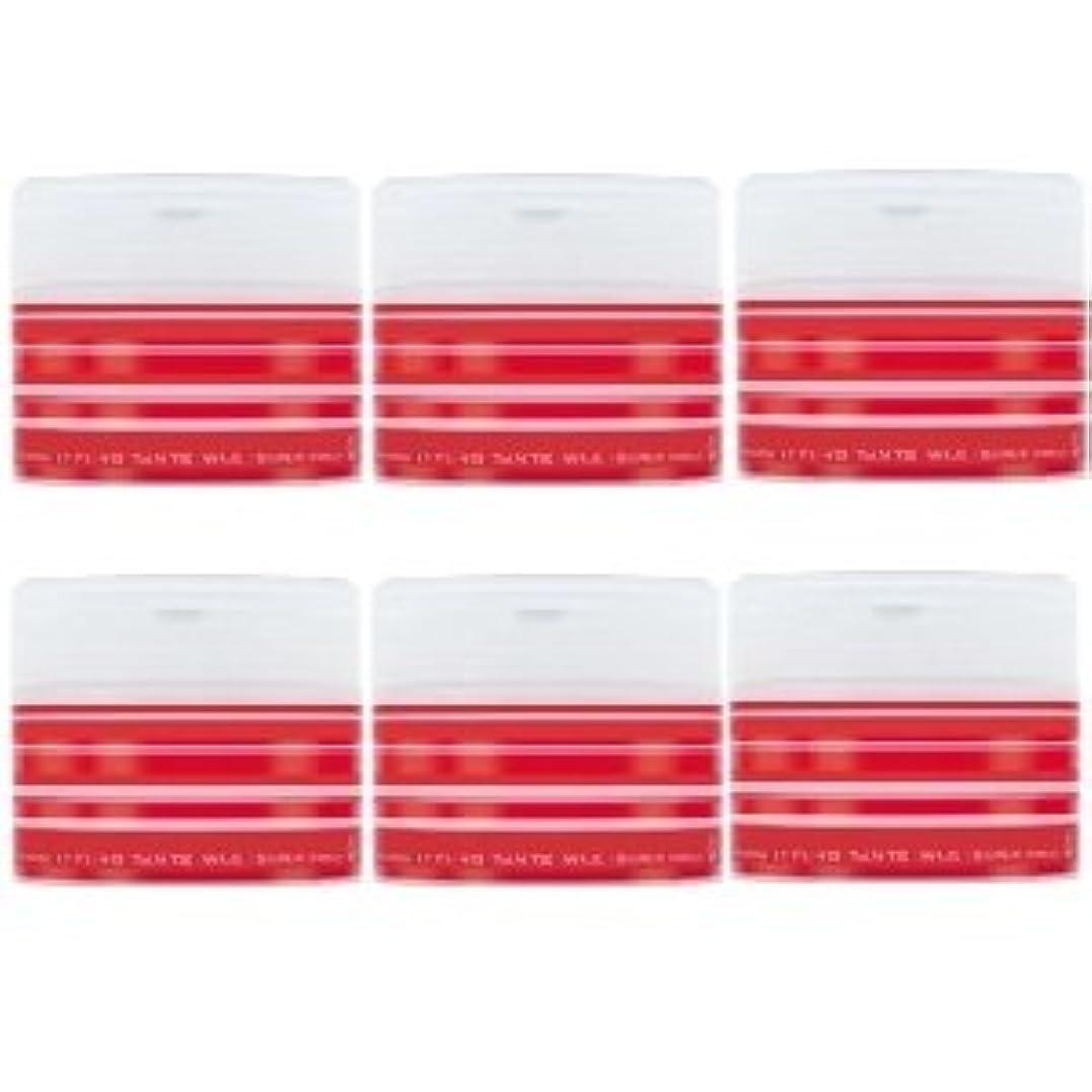 周囲栄光の急性ナカノ スタイリング タントN ワックス 5 スーパーハード 90g × 6個セット