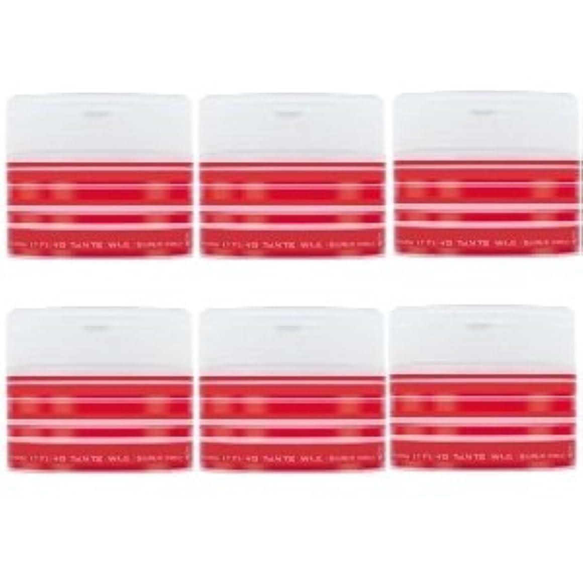 バインド恐れ検査ナカノ スタイリング タントN ワックス 5 スーパーハード 90g × 6個セット