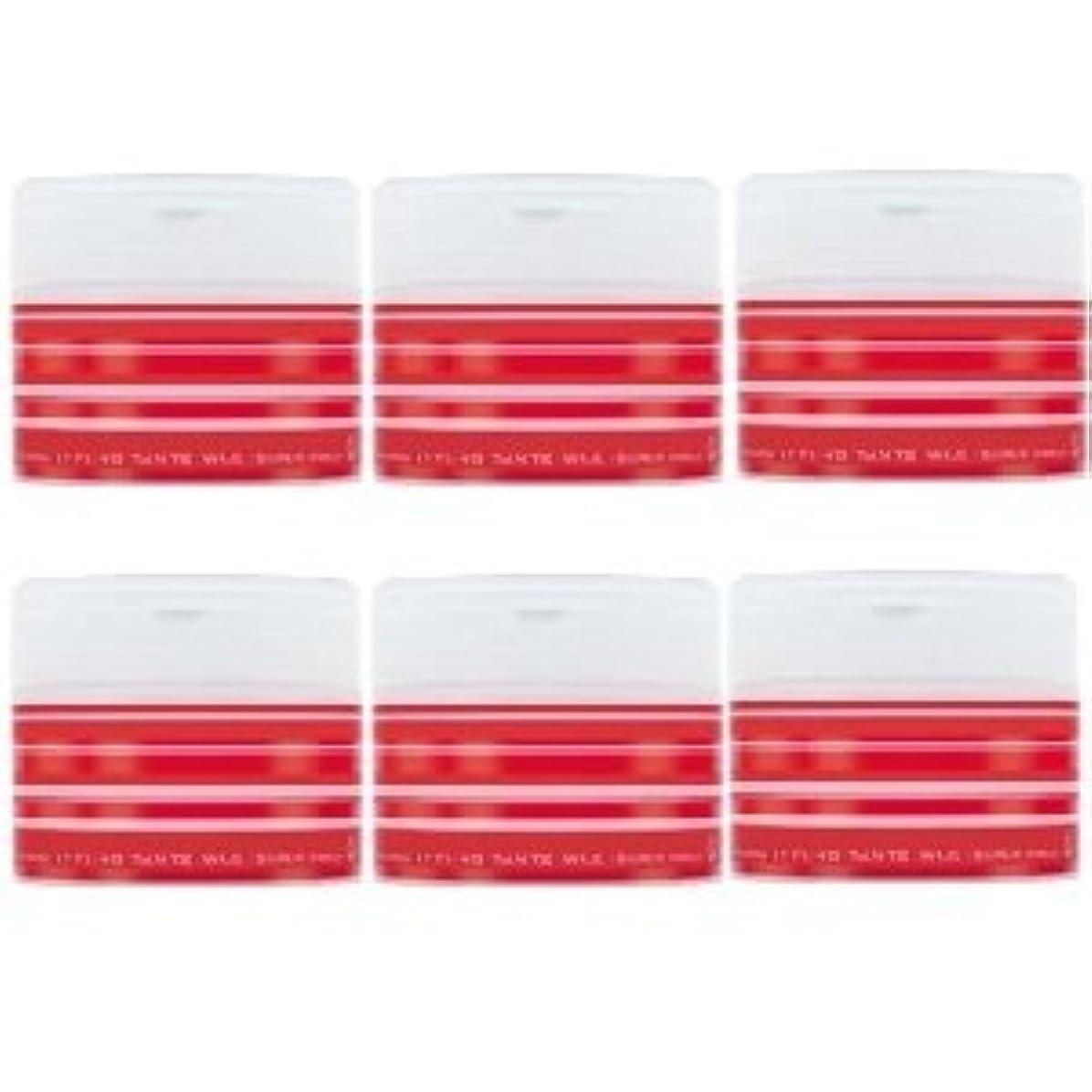 つまらない気分が悪い光電ナカノ スタイリング タントN ワックス 5 スーパーハード 90g × 6個セット