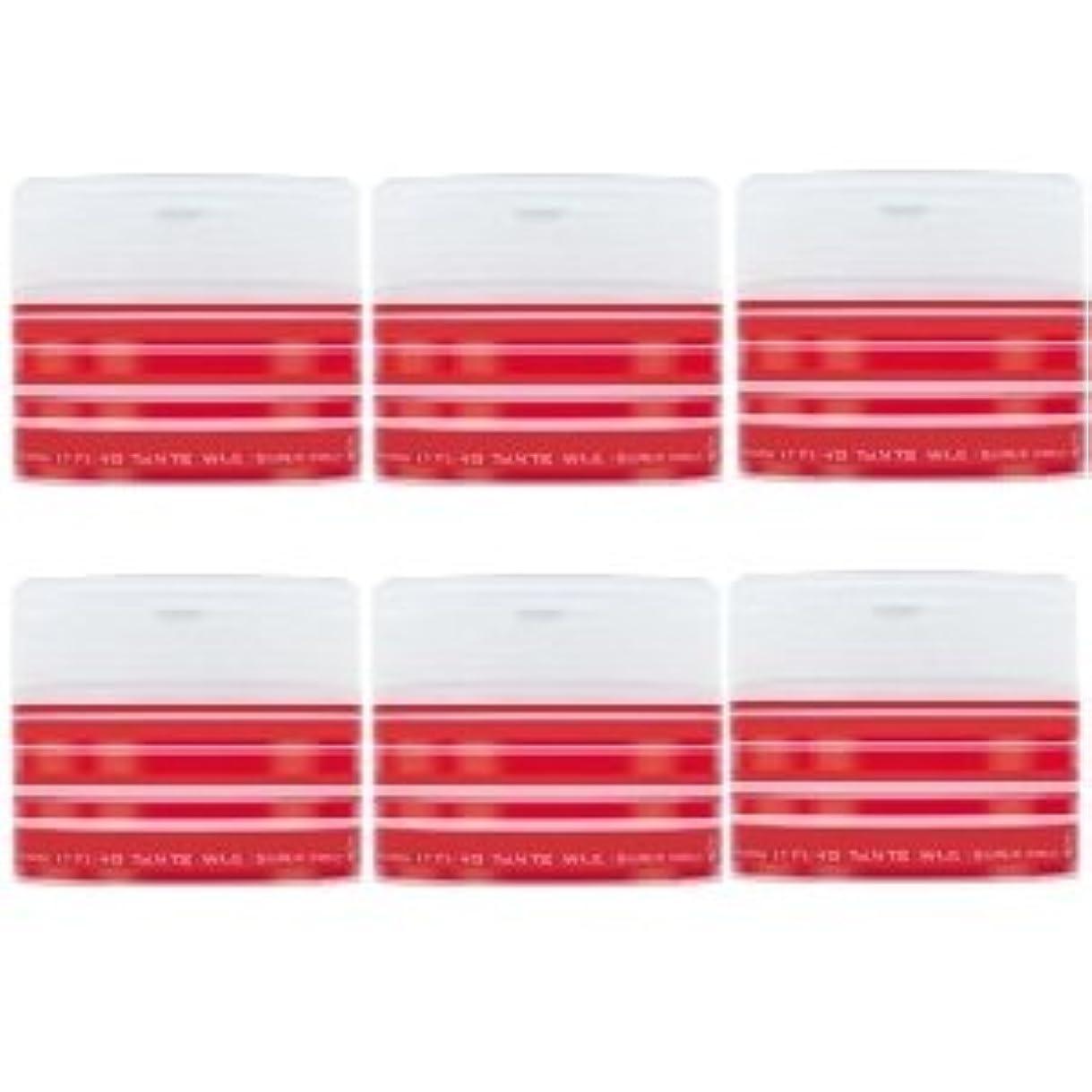 ありふれたカカドゥ空白ナカノ スタイリング タントN ワックス 5 スーパーハード 90g × 6個セット